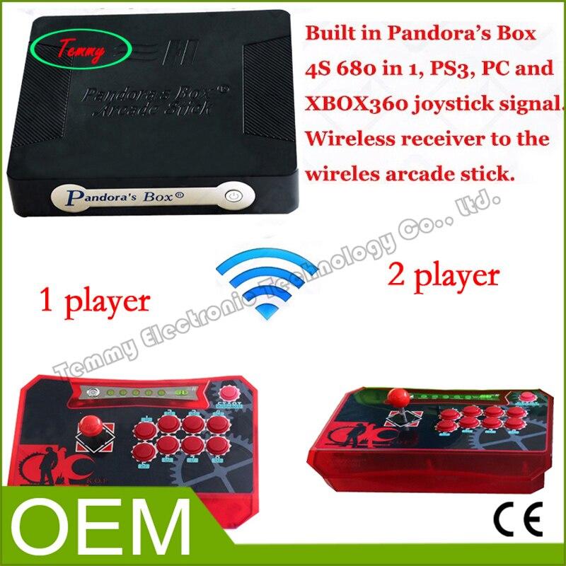 Salida HDMI Consolas de Videojuegos TV juego de Arcade 2 jugadores wireless cont