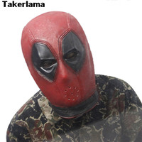 New Version Super hero Deadpool Mask Breathable Latex Full Face Mask Helmets Halloween Cosplay Prop