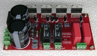 YJ TDA7294 amplifier board daul 26V 0 26V UPC1237 + TDA7294 amplifier BTL 2*150W with Speaker protection