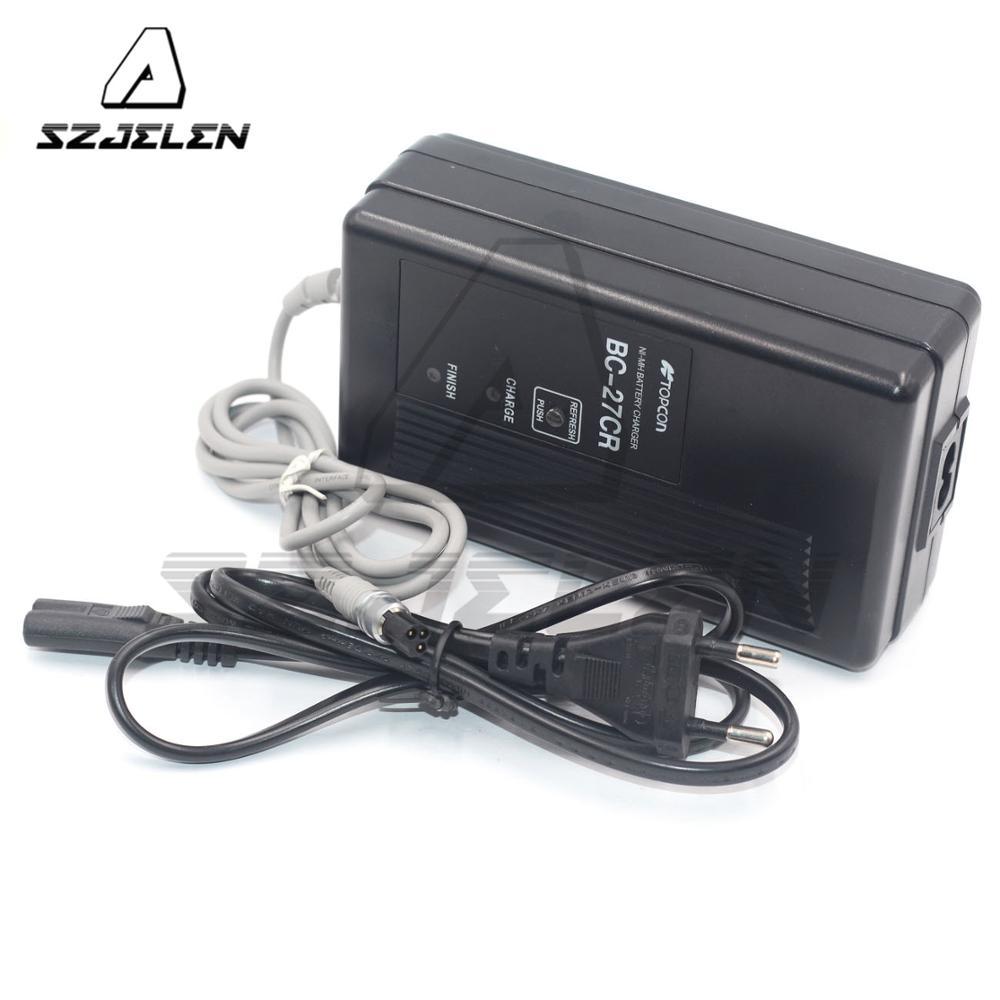3PIN TOPCON BC-27CR CHARGER FOR TOPCON Total Station BT-52Q BT-52QA Power 3PIN