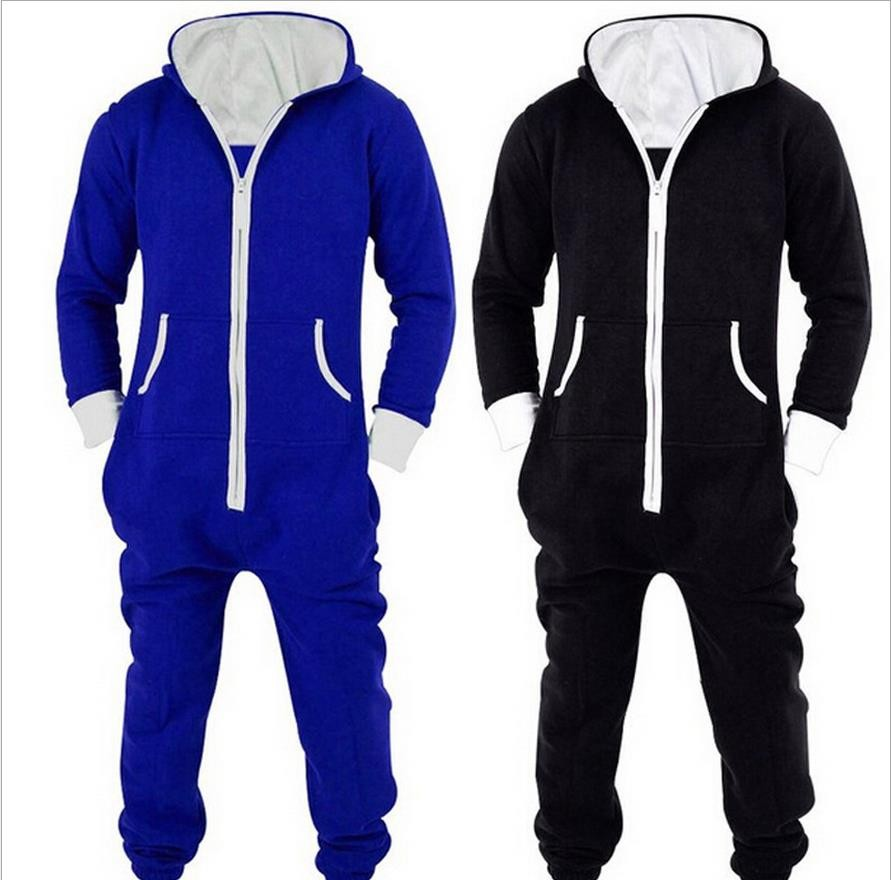 2016 Winter Men's Plus Size Home Pajamas One Piece Adult Onesie Mens Women Superman Jumpsuit Sleepwear as0124