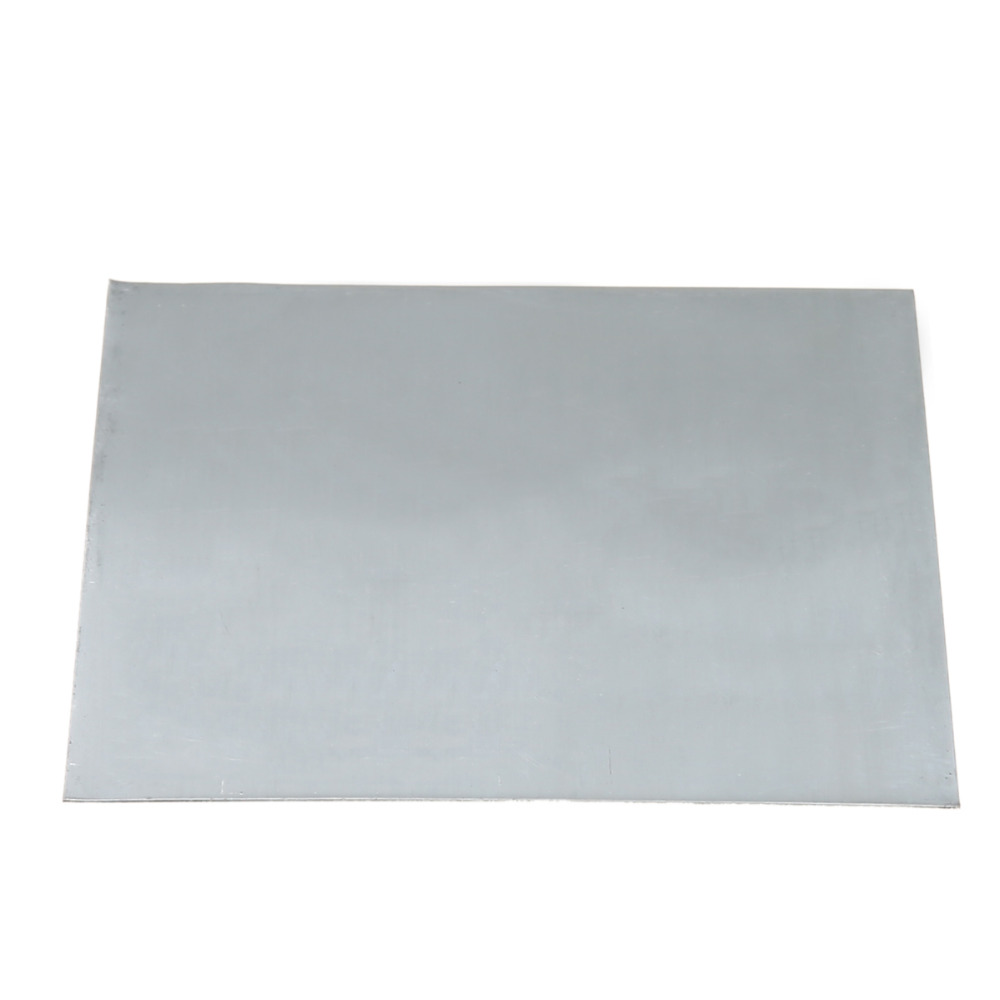 1pc High Purity Zinc Plate 99.9% Pure Zn Sheet For Science Lab Accessories 100mmx100mmx0.2mm tungsten sheet plate for scientific research and experiment high purity