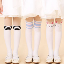 2016 New tights for girls1 Pair Spring autumn Girls Tights Cute Cartoon Kitty cat Fashion Kids girl Panty hose gift
