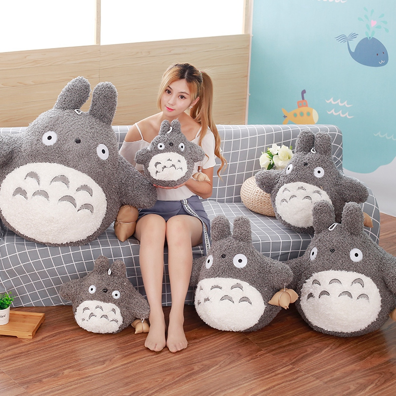 70cm/80cm Totoro Plush Toys Stuffed Animals Soft Toy Plush Totoro with rice dumpling Pillow Toy Birthday Gifts Kids Girls Toys toys for children dolls girls plush snorlax model birthday gifts cross stitch knuffel doudou stuffed animals soft toy 70a0513