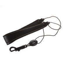 HOT 5X Adjustable Saxophone Strap Leather Nylon Padded Black
