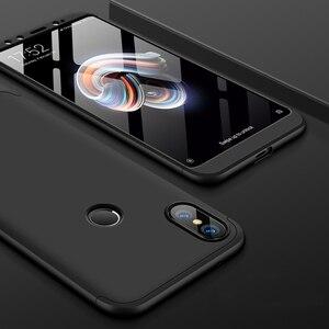 Роскошный 360 полный корпус Защита ударопрочный чехол для телефона Xiaomi Mi A2 Lite чехол с закаленным стеклом чехол для Mi A1 A2