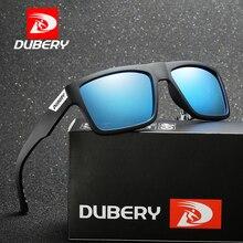 DUBERY Brand Design Polarized Sunglasses Men Driver Shades Male Vintage Sun Glasses For Men Spuare Summer Oculos Goggle D918