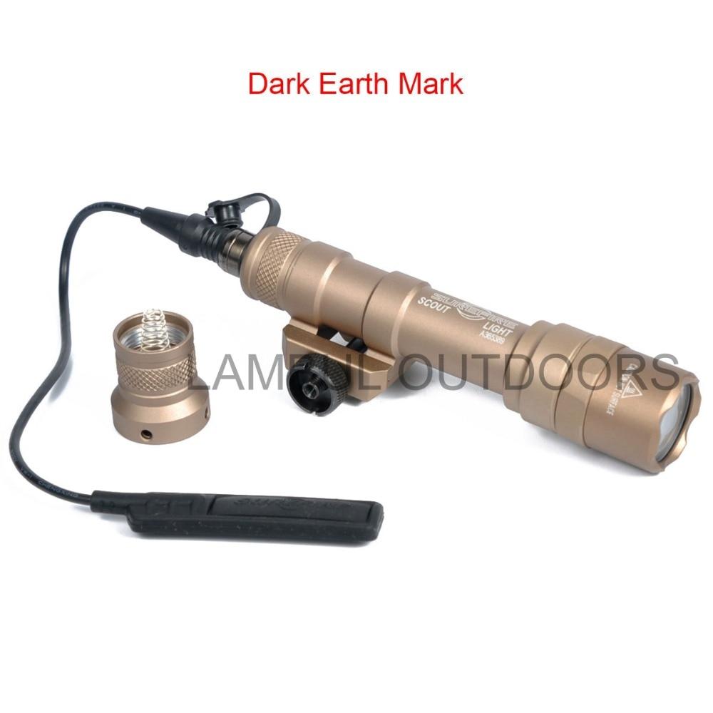 Lampu suluh taktikal SF M600 M600B untuk senjata pemburu obor senjata - Memburu - Foto 6