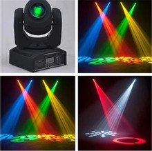 Hot Sale Mini Spot 30W LED Lampu Moving Head dengan Gobos Plate & Warna Piring, kecerahan Tinggi 30W Mini LED Lampu Moving Head DMX512(China)