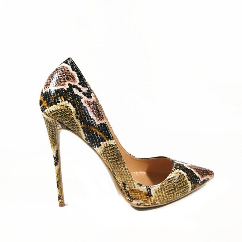 Brown Verde Plataforma Tacones Las Zapatos Finos verde De 12 Y0709958f Mujer Moda Cm Bombas Altos Mujeres Nueva qxnPpOZ1