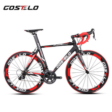 2016 costelo MORI complete carbon road bicycle bicicletta completa carbon road bike11 speed 6 Groupset,with 50mm carbon wheels
