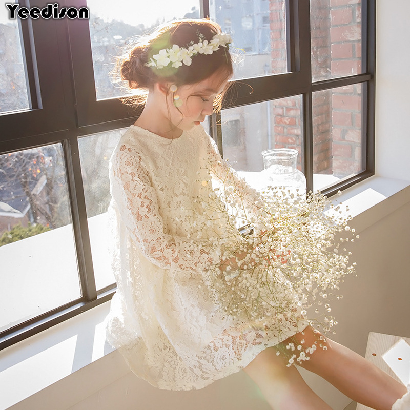 2018 New Fashion Girls Dress Princess Party Kids Lace Dresses For Girls Costumes Long Sleeve Cute Teenage Children Dresses 4-12T батарея sven sv12 5 sv1250