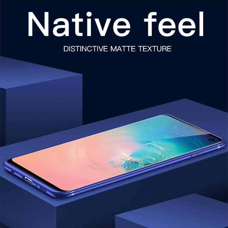 Ультратонкий матовый чехол для телефона Samsung Galaxy S10 E S8 S9 Plus J3 J5 J7 J4 J6 Plus J8 2018 2017 2016 TPU силиконовый мягкий чехол