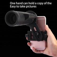 Big discount Universal 35×50 Telephoto Monocular Zoom 10X Telescope Lens + Phone Bracket Mount Holder Portable Camera Lens For All Phone