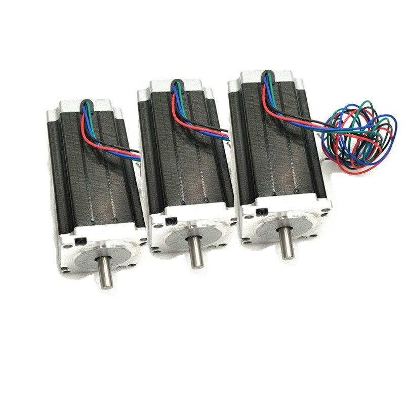 Hltnc 12 piezas 86HS4802 NEMA34 116mm Motor paso a paso + 12 piezas DMA860H 2-fase Digital conductor 7.2A MA860