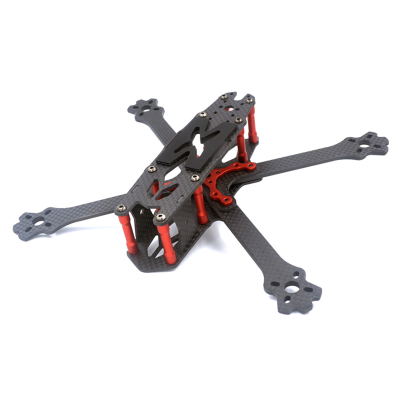 Hot New FS215 215mm FPV Racing Frame RC Drone Freestyle Frame Kit Carbon Fiber 4mm Arm For DIY RC Models Multicopter Spare Parts hot new eachine ex120 fpv brushed racing quadcopter spare parts carbon fiber diy frame kit