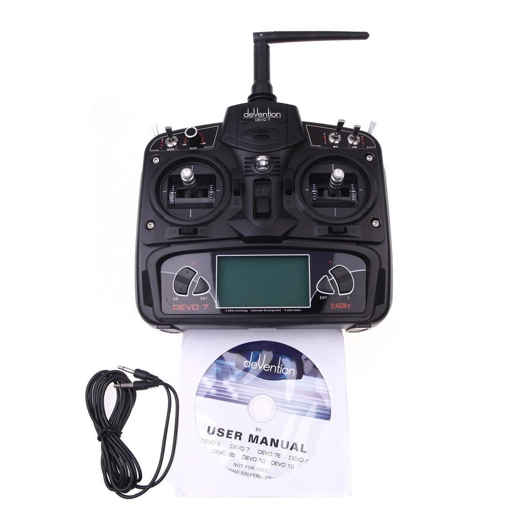 Original Walkera Rodeo 110 + DEVO 7 Transmitter With 600TVL Camera Racing Drone RC Quadcopter Drone