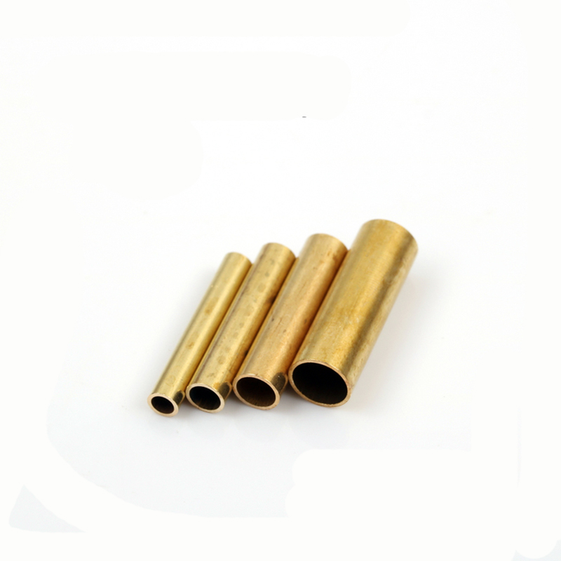 10pcs Brass Tube 25mm Length 0.5mm Thickness 4 5 6 8mm Outer Diameter