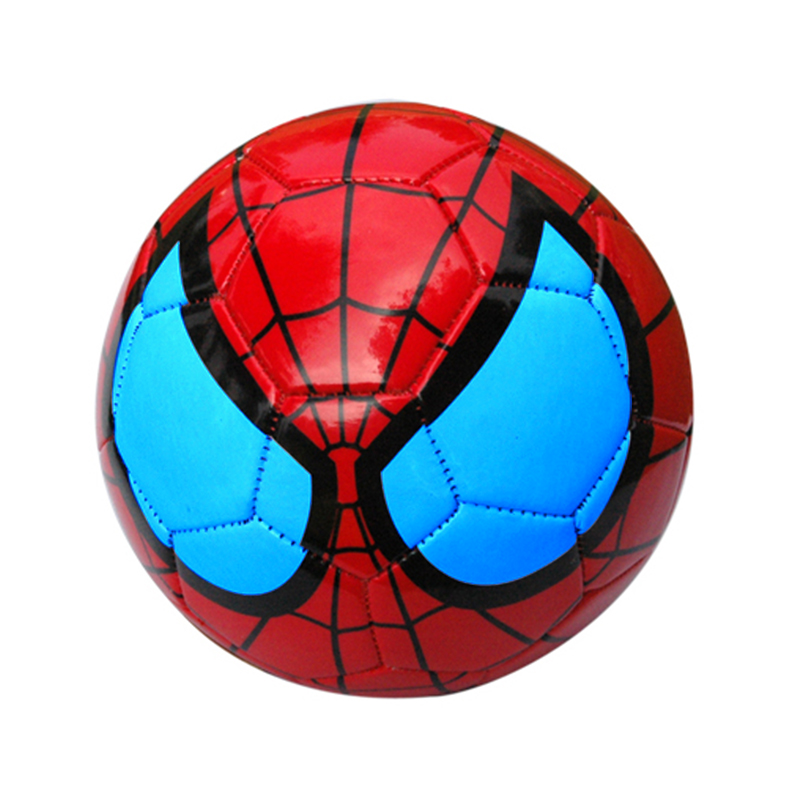 Size 2 Kids Soccer Spider Man Little Ball Children Baby Football Spiderman Ball  Kindergarten Football