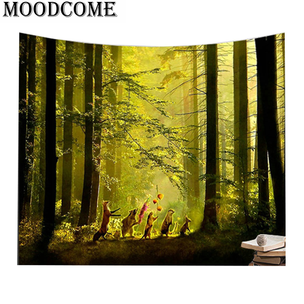Aliexpress.com : Buy animal tapestry printed y wall hanging tapiz ...