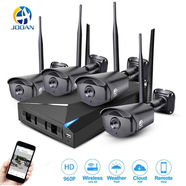Jooan Wireless Security System 4ch Cctv Nvr 960p Wifi