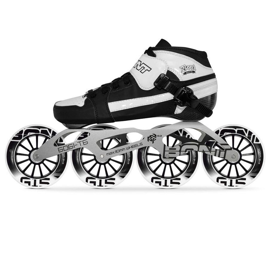 Original Bont Pursuit 4*90/100/110mm G15 Professional Speed Inline Skates Heatmoldable Carbon Fiber Racing Patines Kid Men Adult конструктор биплант кноп кнопыч 46 элементов 11111
