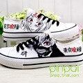 Anime de japón Tokio Ghouls Kaneki Ken máscara noctilucentes zapatillas cosplay zapatos de lona