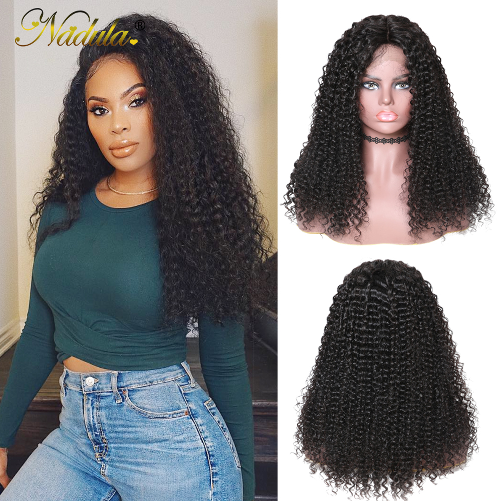 Nadula Wig Curly-Hair Lace-Front-Wigs Full-Lace with 150-%/180%Density for Women