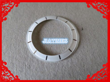 Frete Grátis 1 pcs Relógio J12 Ladies 27.7 Preto Anel de Bisel Inserir Compatível Com J12