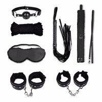 Fetisch Unter Dem Bett Bondage Kit 8 Stücke, BDSM S & M Fesseln System, Bondage Set, bett Liebe Kit Sexspielzeug für Paare