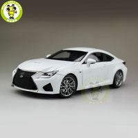 1/18 Toyota Lexus RCF литой модельный автомобиль внедорожник коллекция хобби подарки Белый