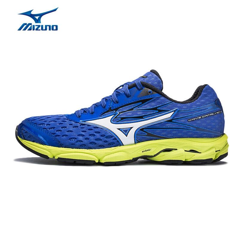 MIZUNO Men's Jogging Running Shoes WAVE CATALYST 2 Breathable Sports Shoes AIRmesh Sneakers J1GC173307 XYP617 mizuno wave paradox 2 mizuno mznj1gc1540