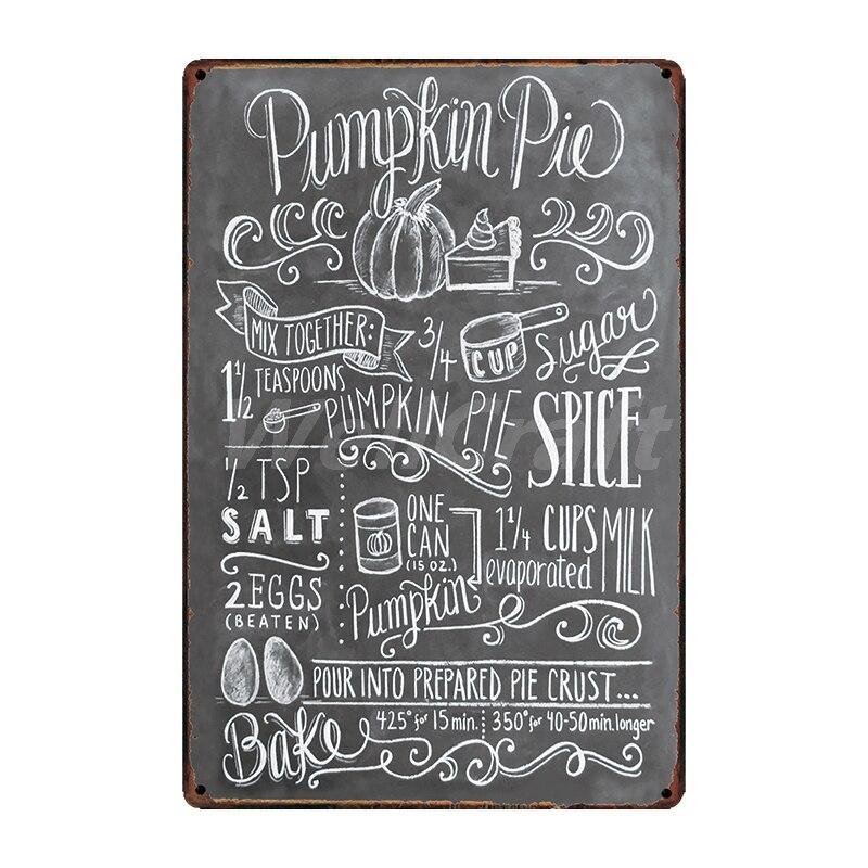 [WellCraft] кофе Коктейль любовь торт чай жестяная вывеска настенные таблички на заказ металлическая живопись античный подарок Бар Паб Декор LT-1704 - Цвет: SA-2662