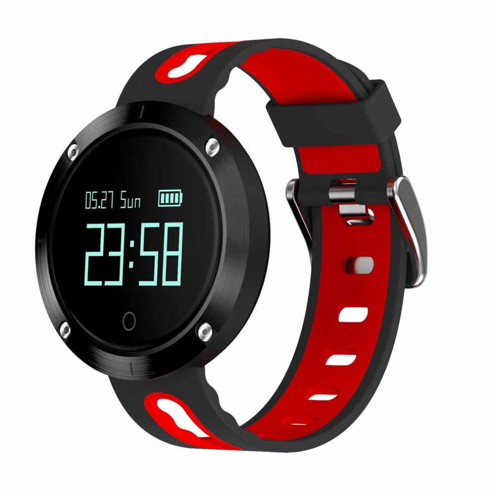 DM58 Touch Screen Bluetooth Sport Wristband Heart Rate Smart Watch Blood Pressure Monitor IP68 Waterproof Heart Rate