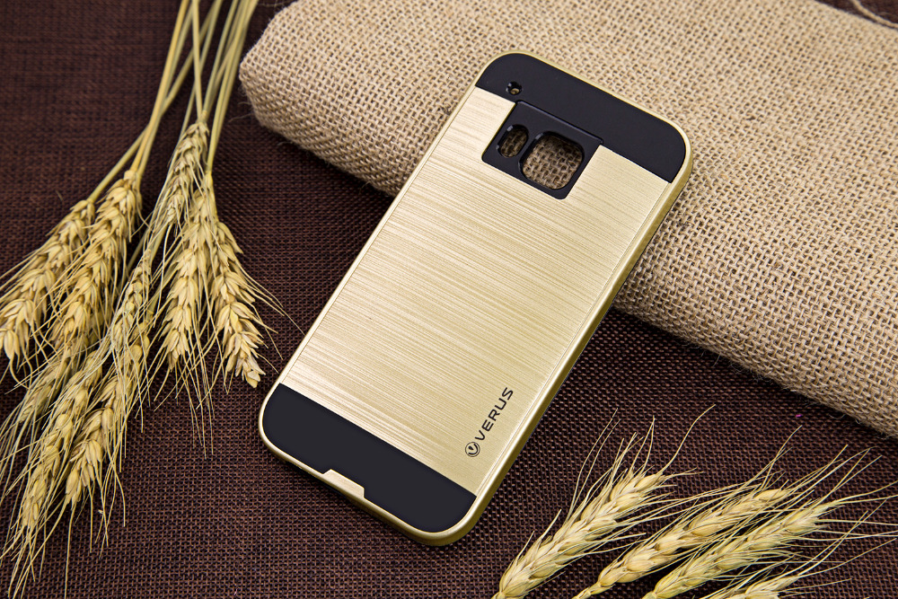 Luxury Silicone+PC Hybrid Armor Brushed Back Cover For HTC One A9 M8 M9 M9 Plus Phone Cases Protective Fundas Coque Capa