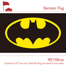 Free shipping 3x5ft Batman Flag 90x150cm Hanging Banner Funs Birthday Gift Party Home