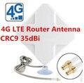 LTE 4G panel antenna 4g indoor wifi router CRC9 antenna 35dBi