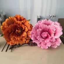 Искусственные пионы Свадебные украшения большой цветок шоу реквизит поддельные цветы DIY цветок фоновое украшение стены