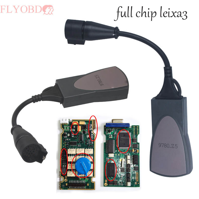 Beste Qualität Lexia 3 Volle Chip 921815C Firmware Diagbox V7.83 PP2000 Lexia3 Auto Diagnose Werkzeug Lexia-3 obd diagnose interface