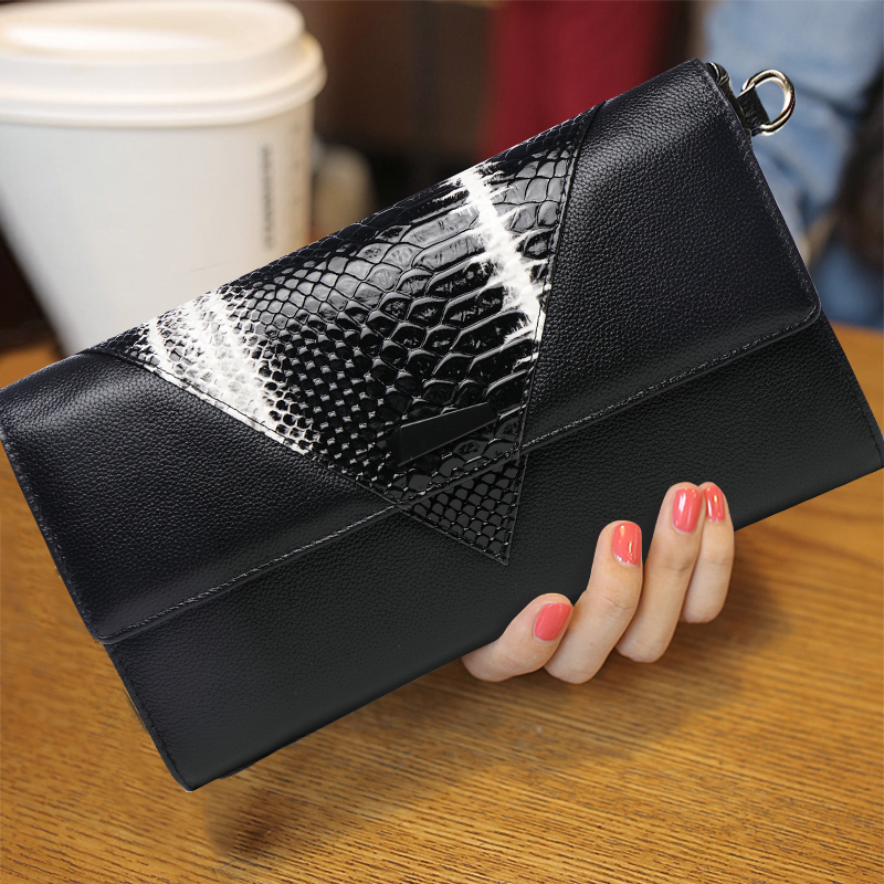 Alligator Genuine Leather Women Mini Messenger Bags Day Clutches Female Hand Bag Famous Brands Shoulder Crossbody Wristlet Bag women genuine leather character embossed day clutches wristlet long wallets chains hand bag female shoulder clutch crossbody bag