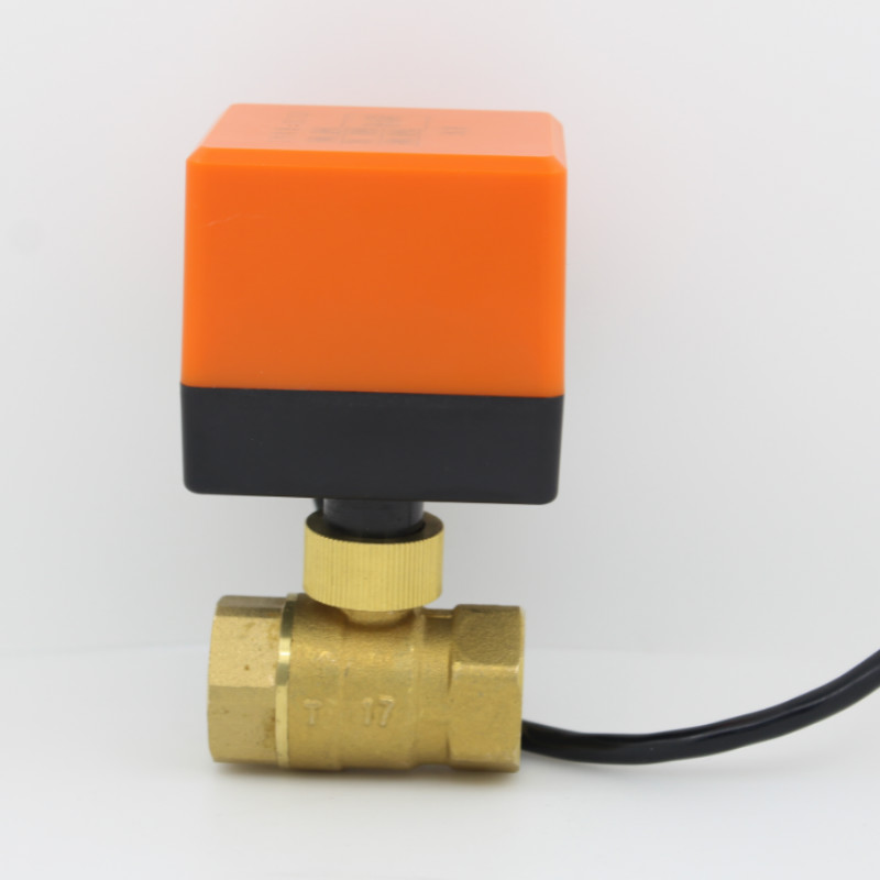 Electric Motorized Brass Ball Valve DN15 DN20 DN25 DN32 DN40 DN50 DC5V 2 Way 3-Wire with Actuator Valves Motorized Ball Valve electric motorized brass ball valve dn15 dn20 dn25 dn40 dn50 dc24v ac24v 2 way 3 wire with actuator valves motorized ball valve