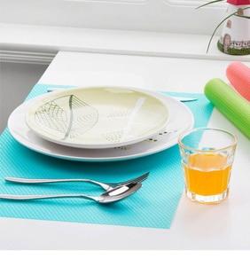 Image 4 - 4Pcs/set Fashion Refrigerator cover Antibacterial Antifouling Mildew Moisture Absorption Pad Refrigerator Waterproof Mats WYQ