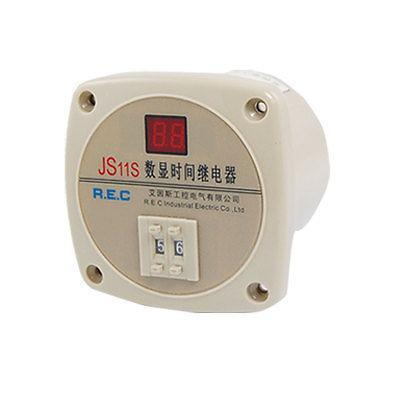 AC 380V 99 Second 99s Digital Timer Programmable Time Delay Relay 13 Pins JS11S free shipping js14p 1 99s second dpdt 2no 2nc programmable time delay relay ac 220v