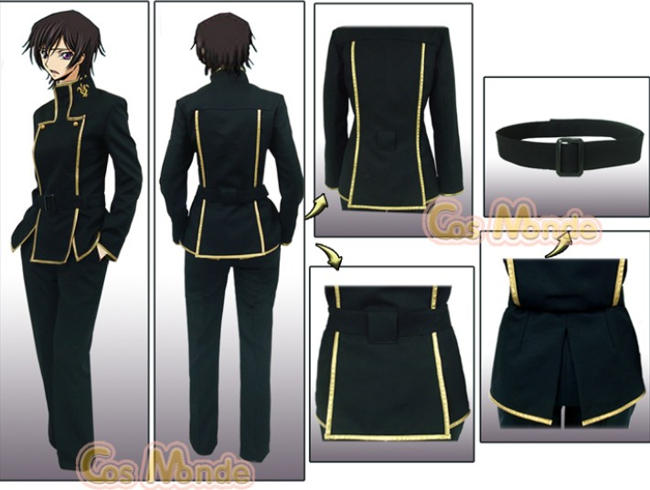 New Free Shipping Code Geass Lelouch Cosplay Costume Set Any Size on Aliexpress.com | Alibaba Group & New Free Shipping Code Geass Lelouch Cosplay Costume Set Any Size on ...