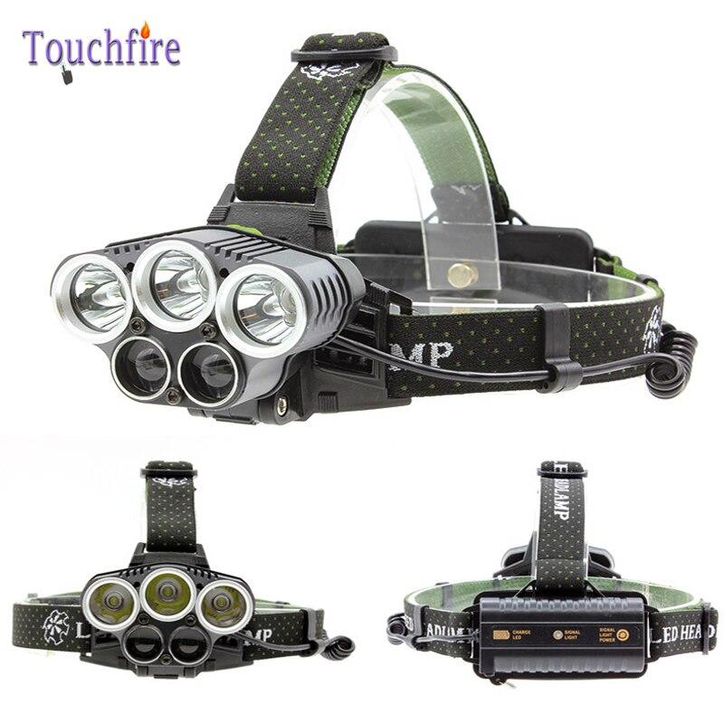 XML-T6 5 LED headlight 4600 LM Hunting Torch USB 18650 battery flashlight forehead pesca Lantern night fishing lanterna Camping sitemap 59 xml