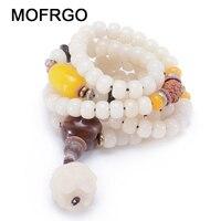 Natural White Bracelets Female Models Diy Fashion Jewelry Bodhi Seed Bracelet Accessories Women Jewelry