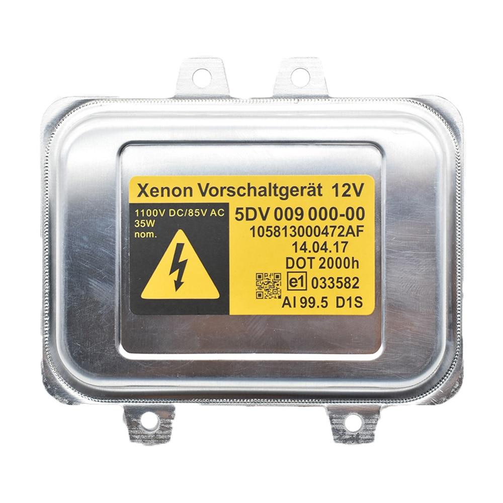 D1S HID Xenon Headlight Ballast Computer Light Control 5DV 009 000-00,5DV009000-00 12767670 For BMW Mercedes-Benz Saab Cadillac