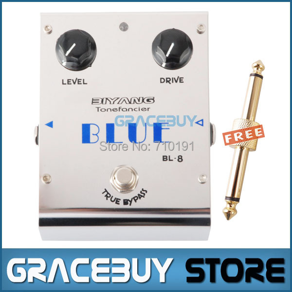 Biyang ToneFancier BL-8 Blue Overdrive Electric Guitar Effect Pedal True Bypass Brand New overdrive guitar effect pedal true bypass with 1590b green case electric guitar stompbox pedals od1 kits