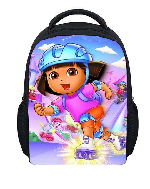 Children School Bags 3D Cartoon Baby Bag Dora Schoolbag,Cute Student Bagpack Girl Kindergarten Book Bag Mochila Infantil