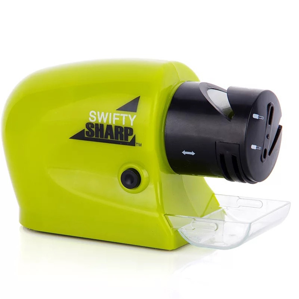 Stone Motorized Knife Sharpener Precision Power Sharpener Hampton Direct Swifty sharp Electric Knife sharpener